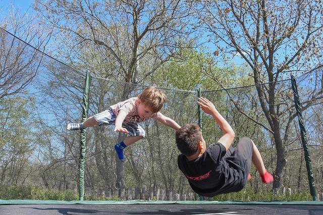Find den bedste trampolin til nedgravning til prisen på nettet